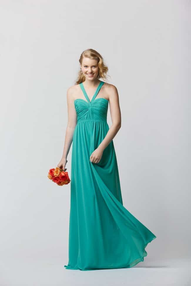 destination wedding bridesmaid dress