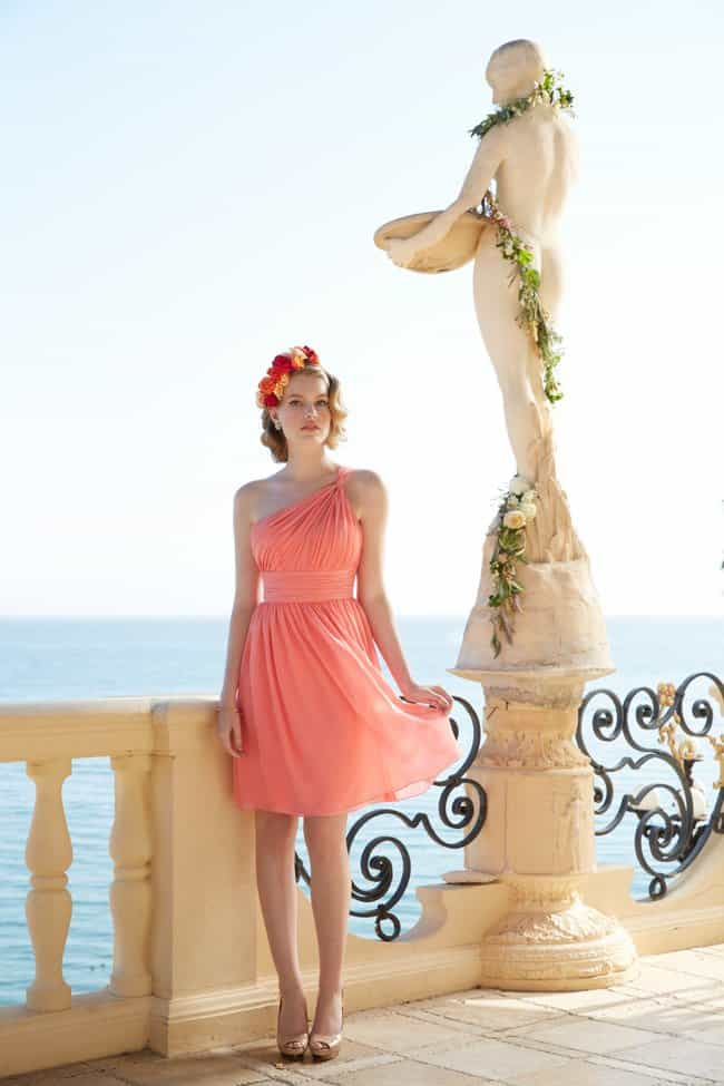 bridesmaid destination wedding dresses