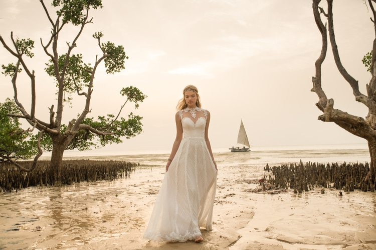 BHLDN destination wedding dresses 1