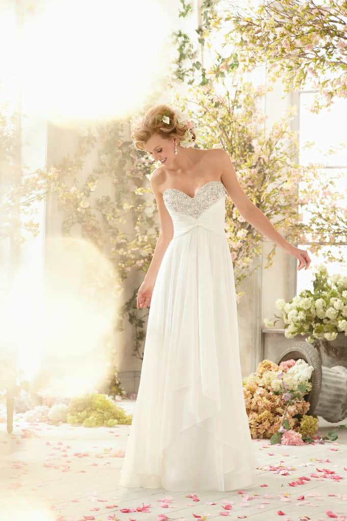 Beach Wedding Gowns - Mori Lee Voyage - style 6773