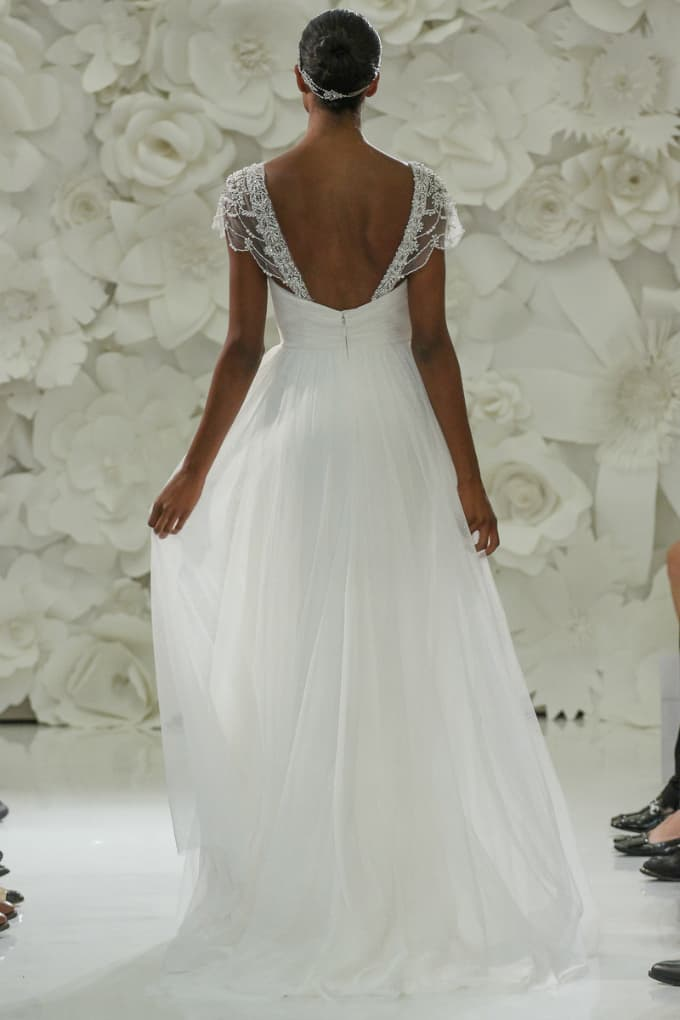 Beach Wedding Gowns Watters Style Love Marley Back