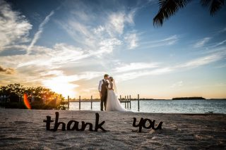 A Beautiful and Chic Key Largo Wedding