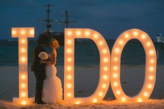 Rustic Chic Beach Wedding in Punta Cana