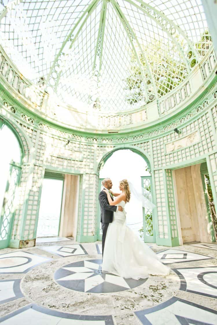 Beautiful elopement in Florida's Vizcaya Museum_1