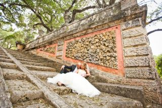 A Stunning Elopement at the Vizcaya Museum and Gardens