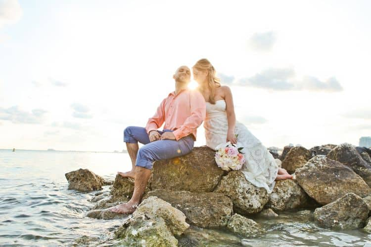 Beautiful elopement in Florida's Vizcaya Museum_7