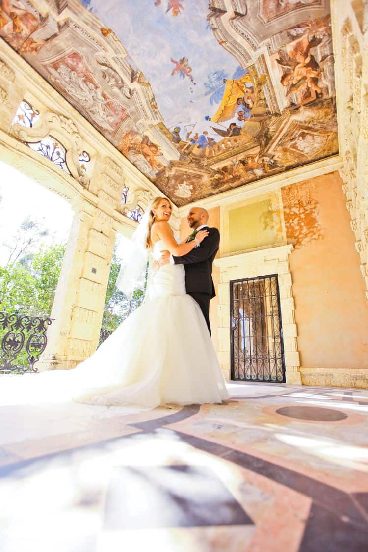 Beautiful elopement in Florida's Vizcaya Museum_9