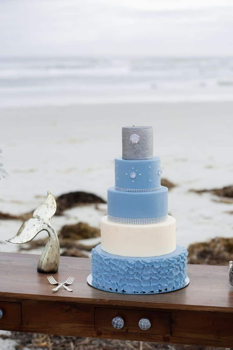 Blue Beach Wedding 10
