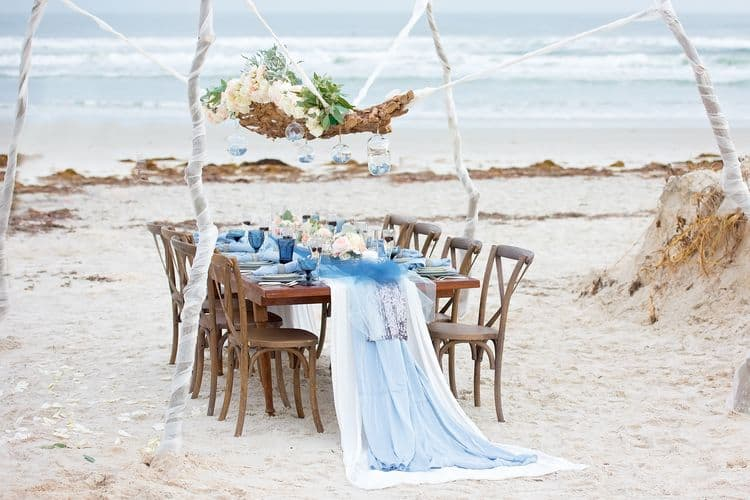Blue Beach Wedding 32
