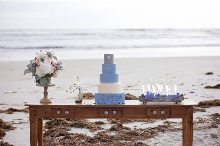 Blue Beach Wedding 33