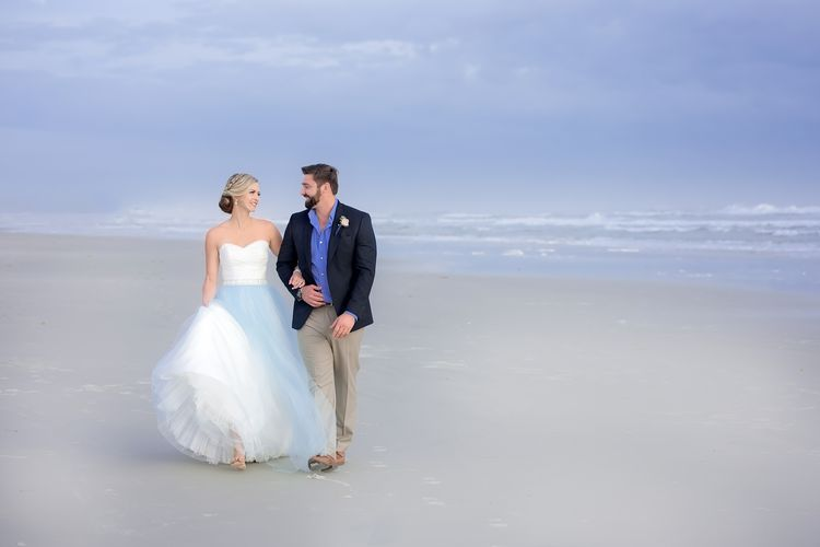 Blue Beach Wedding 35