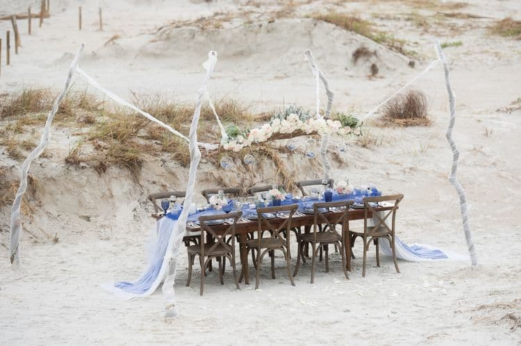 Blue Beach Wedding 42