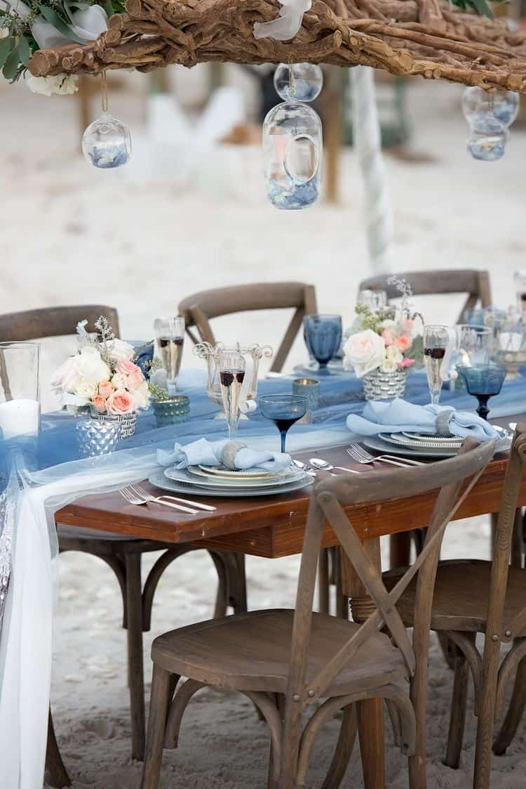 Blue Beach Wedding 43