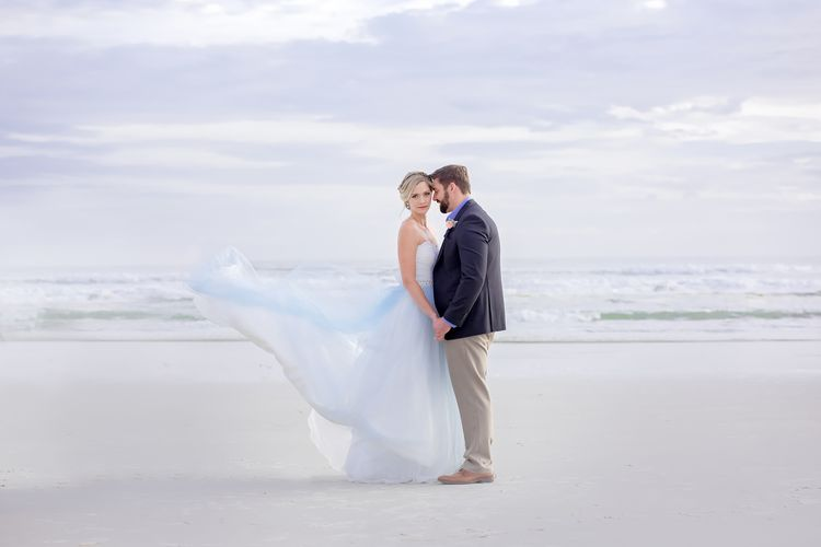 Blue Beach Wedding 53 1