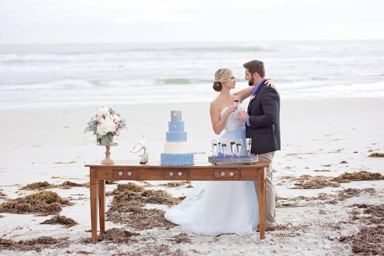 Blue Beach Wedding 6