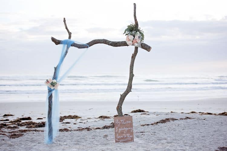 Blue Beach Wedding 71
