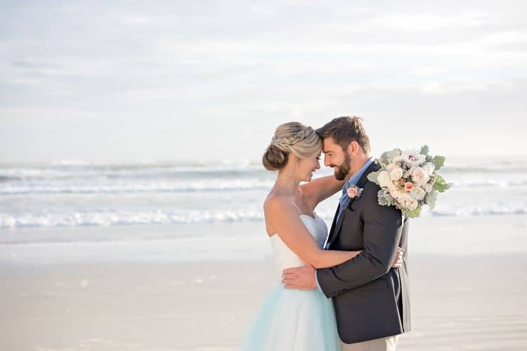 Blue Beach Wedding 77