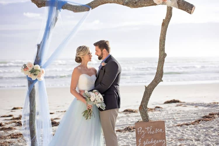Blue Beach Wedding 9