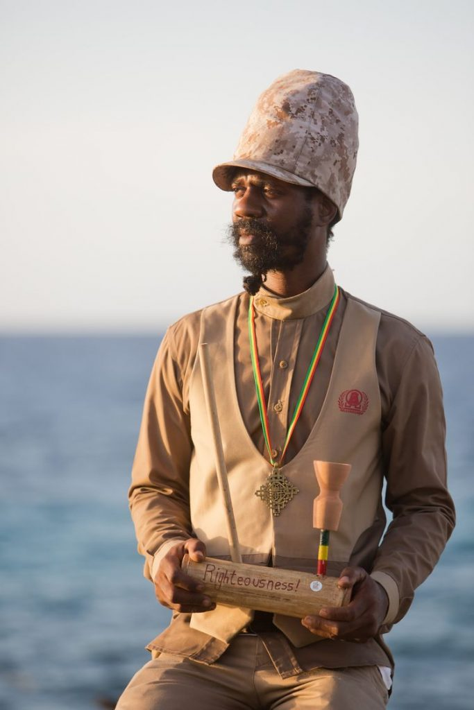 Weed themed destination wedding in Jamaica