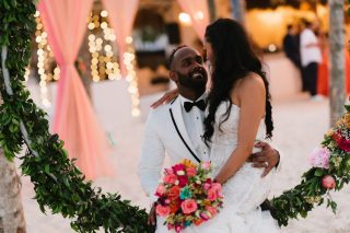 Intimate and Colorful Destination Wedding at Huracan Cafe