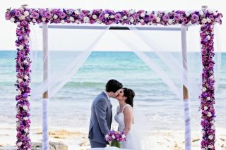 A Gorgeous Destination Wedding at Now Jade Riviera Cancun