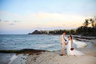 Tropical Destination Wedding at Sandos Caracol