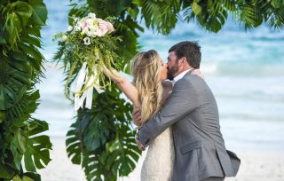 Stunning Destination Wedding in Ak'iin Beach, Tulum