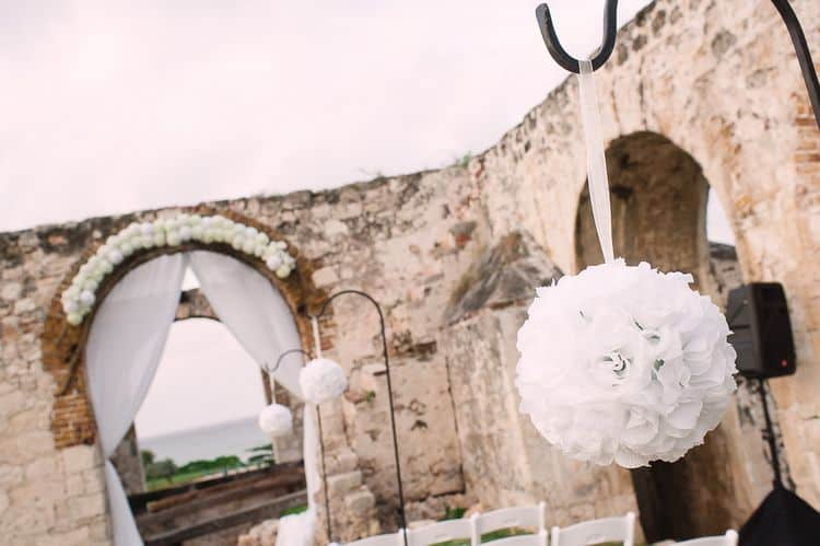 Destination Wedding at Ancient Aqueduct Ruins in Montego Bay