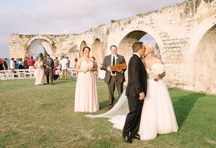 Destination Wedding in Montego Bay ancient aqueduct ruins