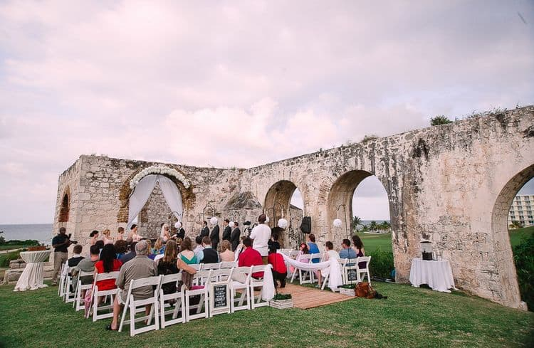 Destination Wedding in Ancient Aqueduct Ruins in Montego Bay