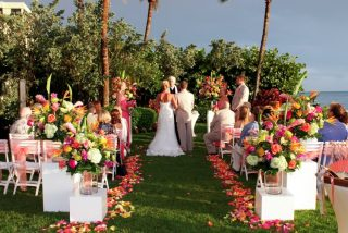 A Modern and Tropical Destination Wedding in Naples, Florida