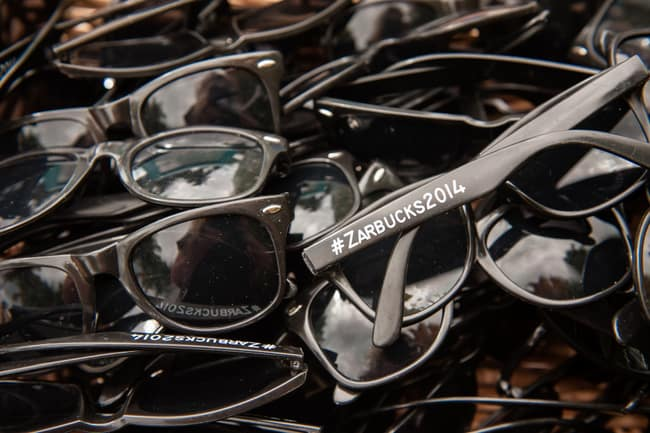 Destination Wedding sunglasses as favors