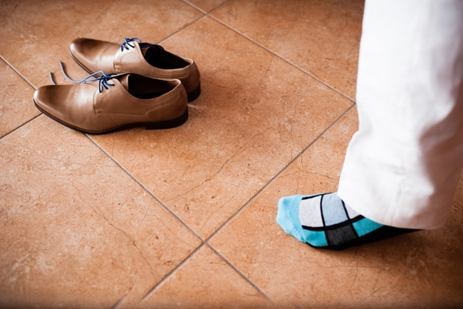 beach wedding groom shoes