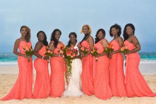 Bright and Tropical Destination Wedding in Punta Cana