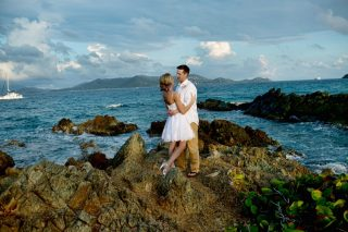 A Sweet and Simple Destination Wedding in the Virgin Islands