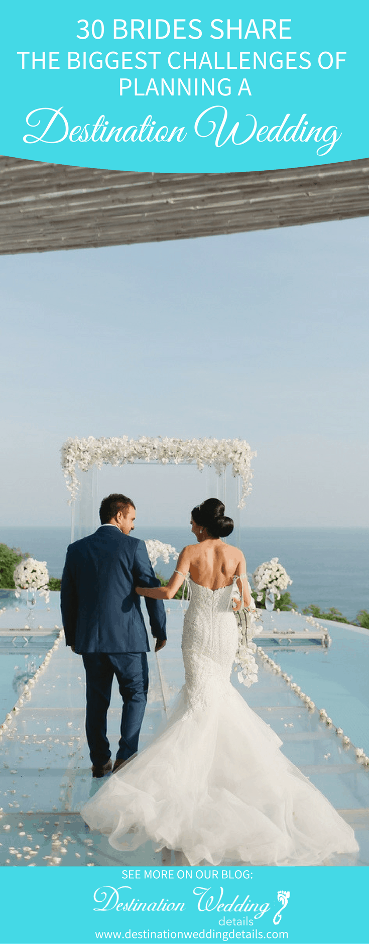Destination wedding planning challenges
