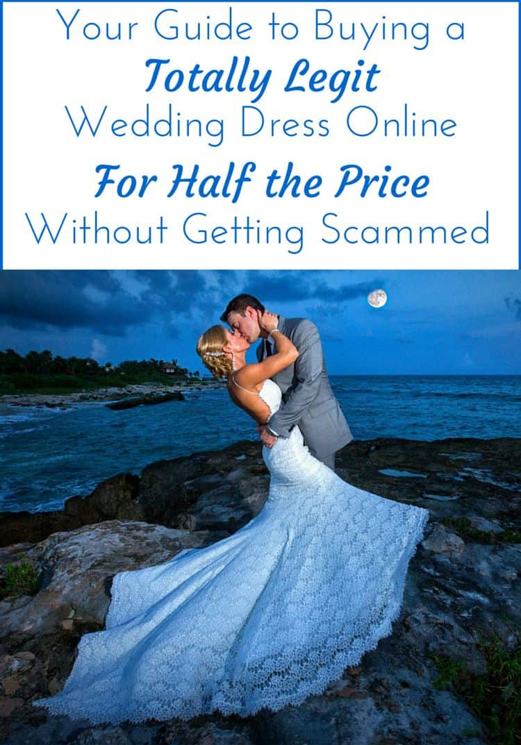 How to Buy a legit wedding dress online