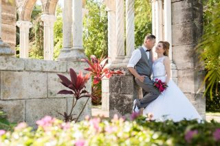 An Intimate Destination Wedding in Nassau at the French Cloisters