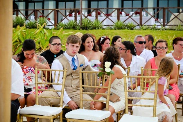 riviera maya wedding honoring deceased mother