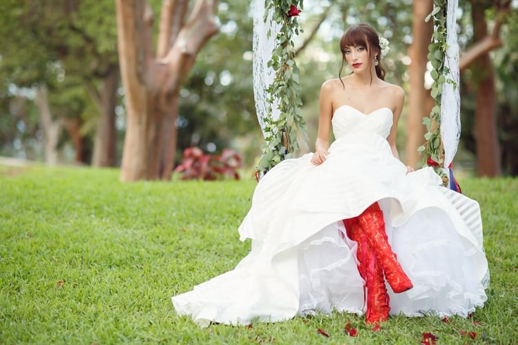 Red, White & Blue Wedding Inspiration at the Key Largo Lighthouse ...