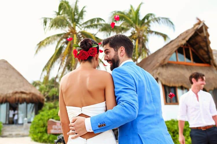 Mayan destination wedding at Casa Violeta in Tulum_51