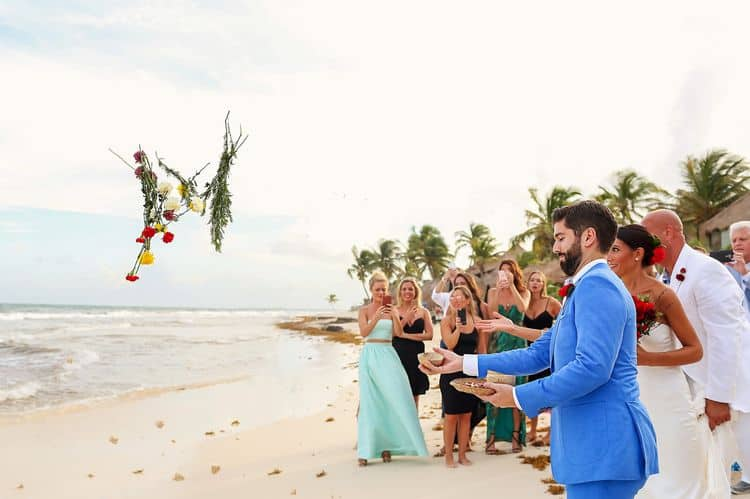Mayan destination wedding at Casa Violeta in Tulum_55
