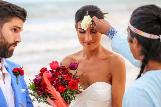 A Romantic Mayan Ceremony in Tulum