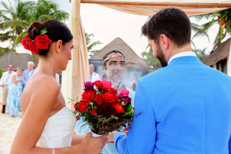 Mayan destination wedding at Casa Violeta in Tulum_78
