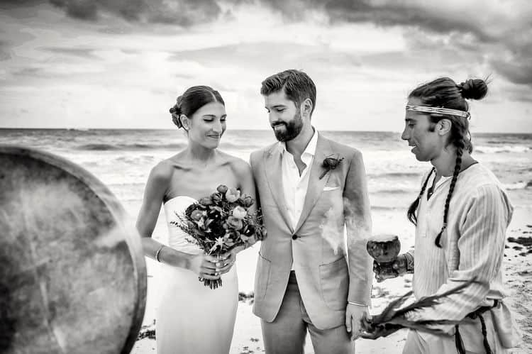 Mayan destination wedding at Casa Violeta in Tulum_80