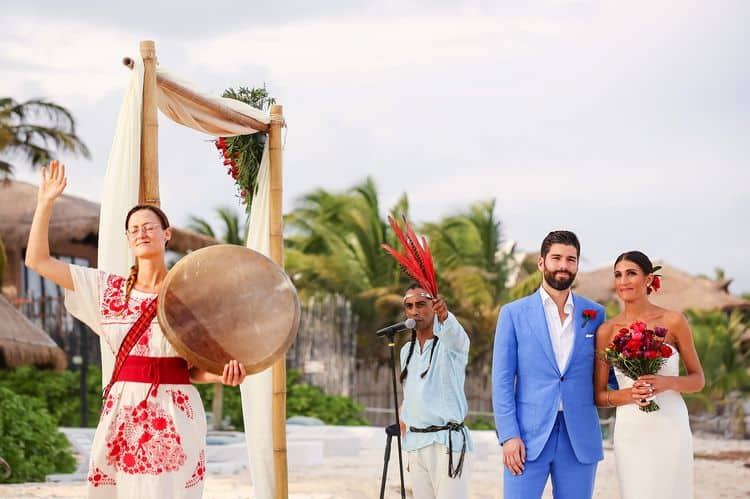 Mayan destination wedding at Casa Violeta in Tulum_81