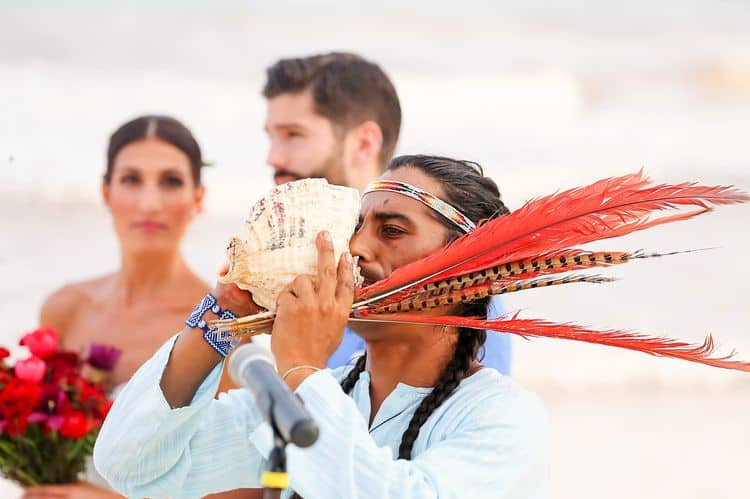 Mayan destination wedding at Casa Violeta in Tulum_83