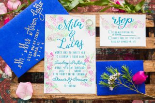 Vibrant Mediterranean Wedding Inspiration