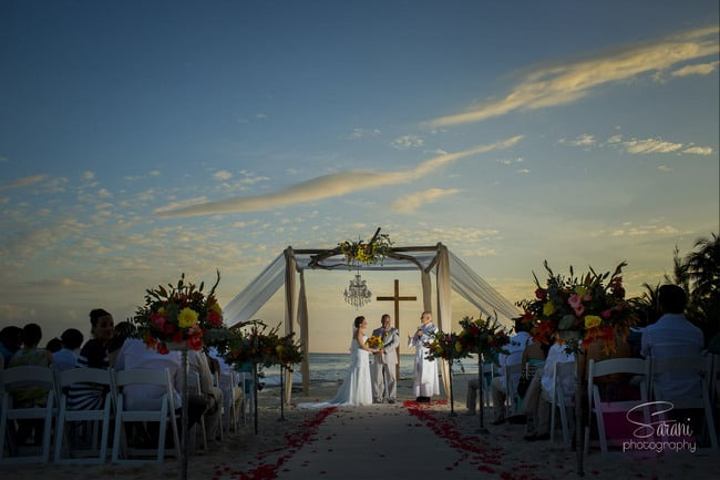 Wedding in Azul Fives in Playa Del Carmen