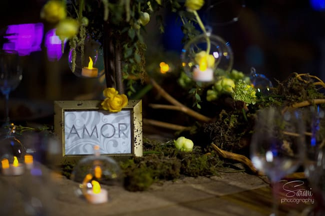 destination wedding table decorations